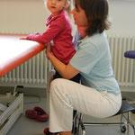 Physio in Aschau mit meiner lieben Therapeutin Wenke