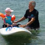 Mit Opa surfen, das ist mir nicht so ganz geheuer.