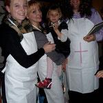 Mit meinen Tanten bei Bart-Opis 50er Feier