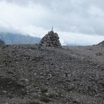 """von der Pleisenhütte quer über den Karwendel zum Karwendelhaus (mit """"Steinmännchen"""")"""