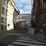 Amtsgericht (Gebäude A, links) und Amts- und Landgericht (Gebäude B, rechts), Gerichtsstraße