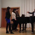 Conducting masterclass with Thomas Hell at Würzburg Music University