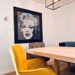 Privathaus 2019 Küche und Essbereich baubiologisch ausgeführt