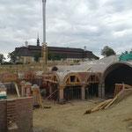 Ein besonderes Projekt die Gobelsburg! Begleitung Ing. Bernahrd Ringswirth, MSc_ Gewölbebau Wagner