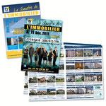 Création + Exécution de la Gazette pour Courtais Immobilier (Mensuel de 12 pages)