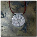 Das Geld der Welt,Silber 925,Lederband