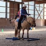 Fjola - Vorführung Coolness und Rittigkeit der Fjordpferde