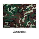 tela estampada algodón Camouflage