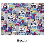tela de algodón Hero