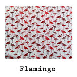 Loneta algodón Flamingo
