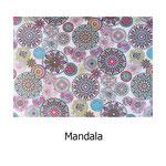 loneta algodón Mandala