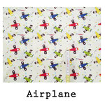 tela estampada algodón Airplane
