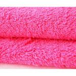 rizo toalla color fucsia