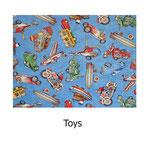 tela estampada algodón Toys