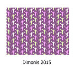 tela estampada algodón Dimonis 2015