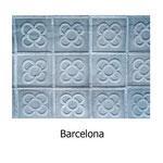 tela estampada algodón Barcelona