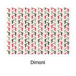 tela estampada algodón Dimoni