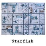 loneta algodón Starfish