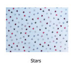 tela estampada algodón Stars