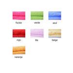 rizo toalla colores