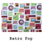 loneta algodón Retro Pop