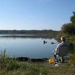 Pêche au Lac Blanc