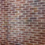 Focus sur imitation de briques en trompe l'oeil-Mur d'immeuble Neuilly sur Seine 92-