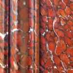"""Focus sur une imitation marbre """"rouge griotte"""""""