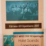 Körresa 7-9 april 2017 till Köpenhamn