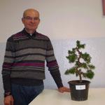 Dario con la propria pianta