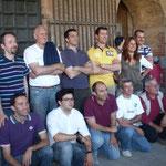 Foto di gruppo degli undici concorrenti