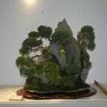 Ishizuki (composizione su roccia) di Franco Bergamini