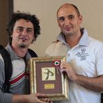 Dino Salaccione ritira il premio