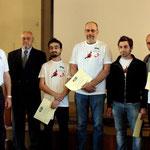Foto ufficiale con tutti i premiati