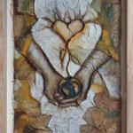 """Mutter Erde"", 82 cm x 63 cm"