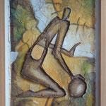 """Die Selbstfindung"", 82 cm x 63 cm"