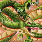 Dragon Sacré aux 7 boules de cristal