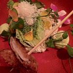 moderne versie van ceaser salade