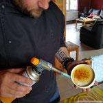 creme brullee met citroengras