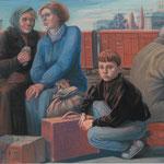 Беженцы. 2001г.