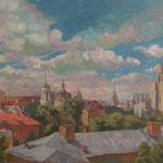 Облака над Москвой. 1995г.