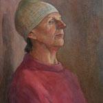 Портрет натурщицы в вяз. шапочке