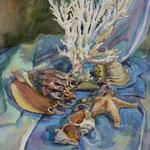 Крымские сувениры.   2001. б. акв. 47х37