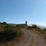 Au col de l'aiguillon la Chlle de Vergol ( Haut Toulourenc )