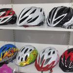 自転車の用品もいっぱい