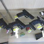 Waffen im Supermarkt
