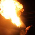 Der Klassiker: Feuerspucken