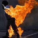 Feuerstunt realisiert mit freundlicher Unterstützung durch Stunt-IT