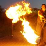Feuershow Firmenfeier Oer Erkenschwick Kometpoi