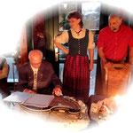 2 Generationen- eine Leidenschaft-die Zither-Herr Schubert u. Birgit&Tobias